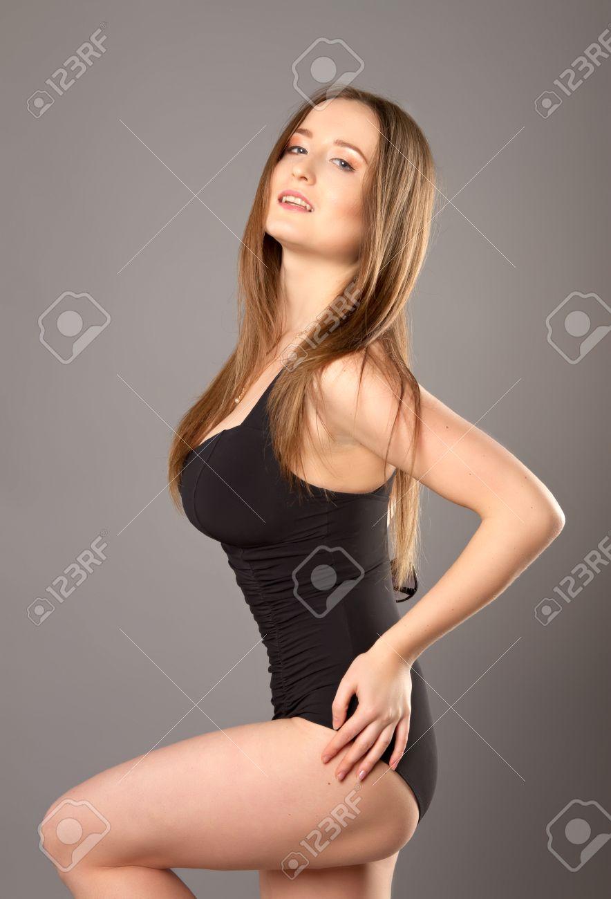 Sexy mädchen mit großen brüsten