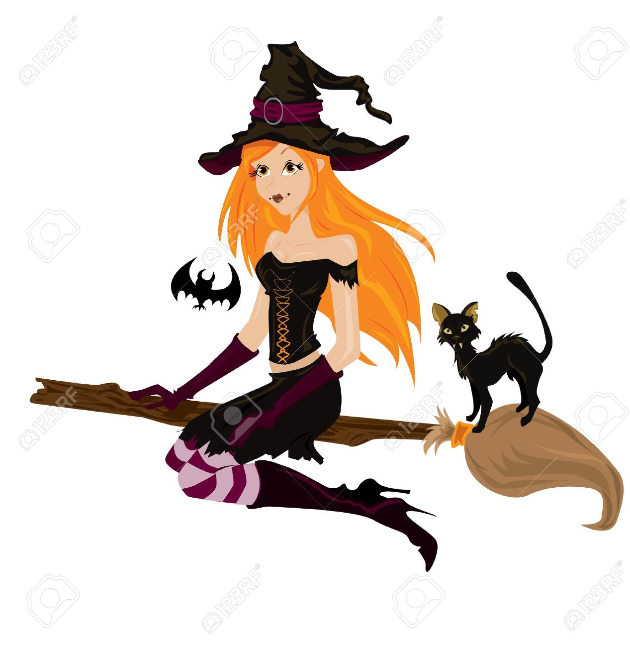 halloween witch stock vector 8001248 - Halloween Which