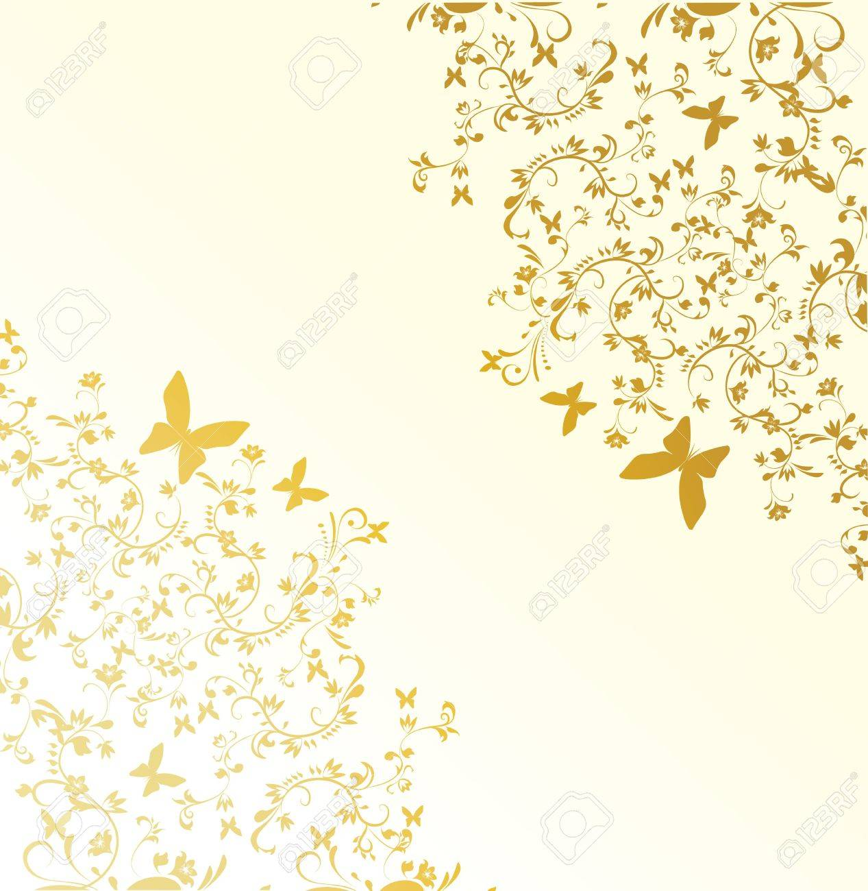 Abstract floral background Stock Vector - 8001395