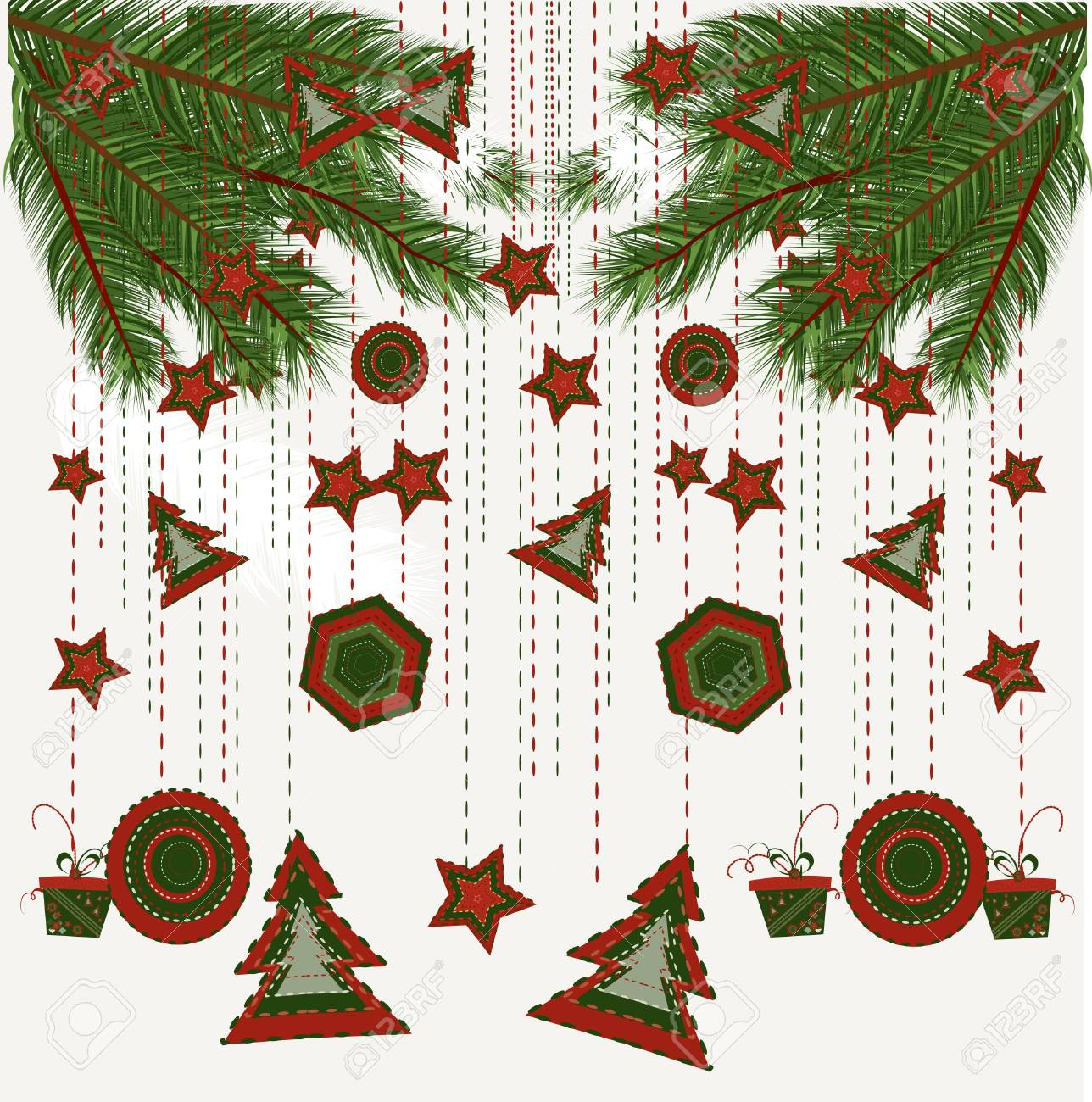Christmas background Stock Vector - 8345684