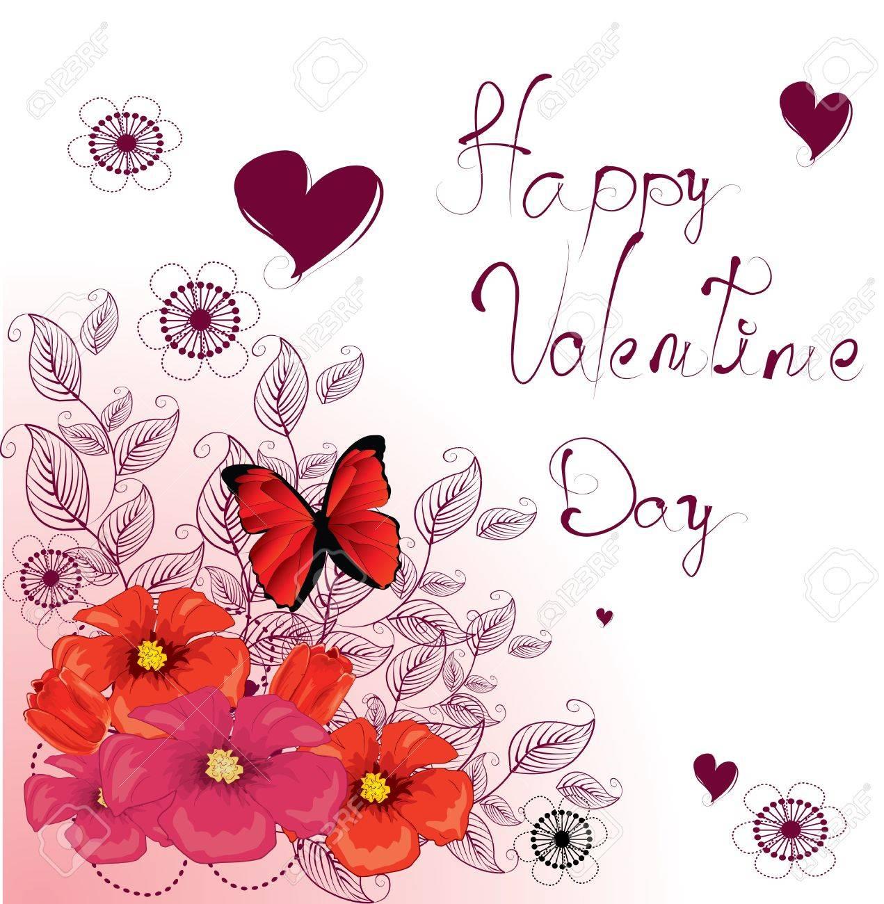 Beautiful greeting card Stock Vector - 8985848