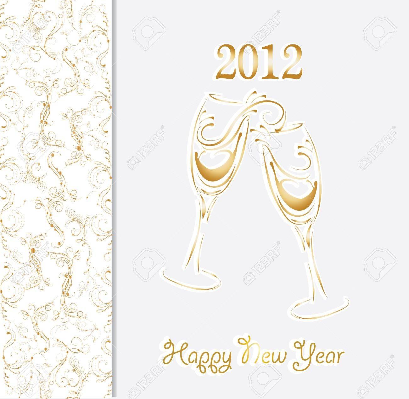 Año Nuevo Tarjeta De Invitación