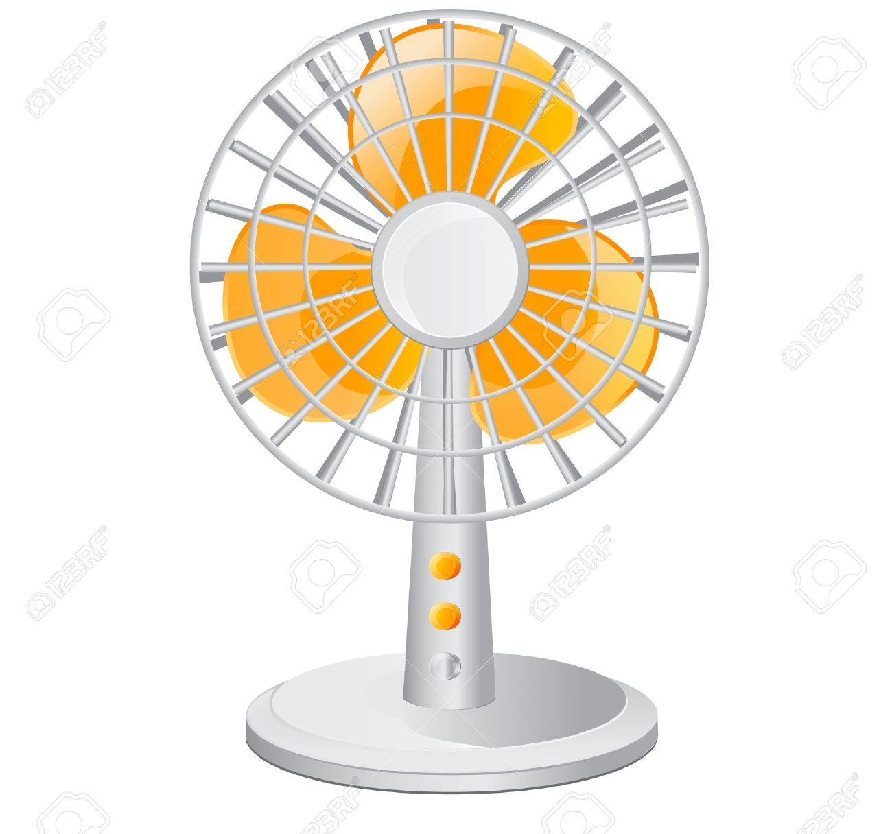 Electric table fan Stock Vector - 14722079