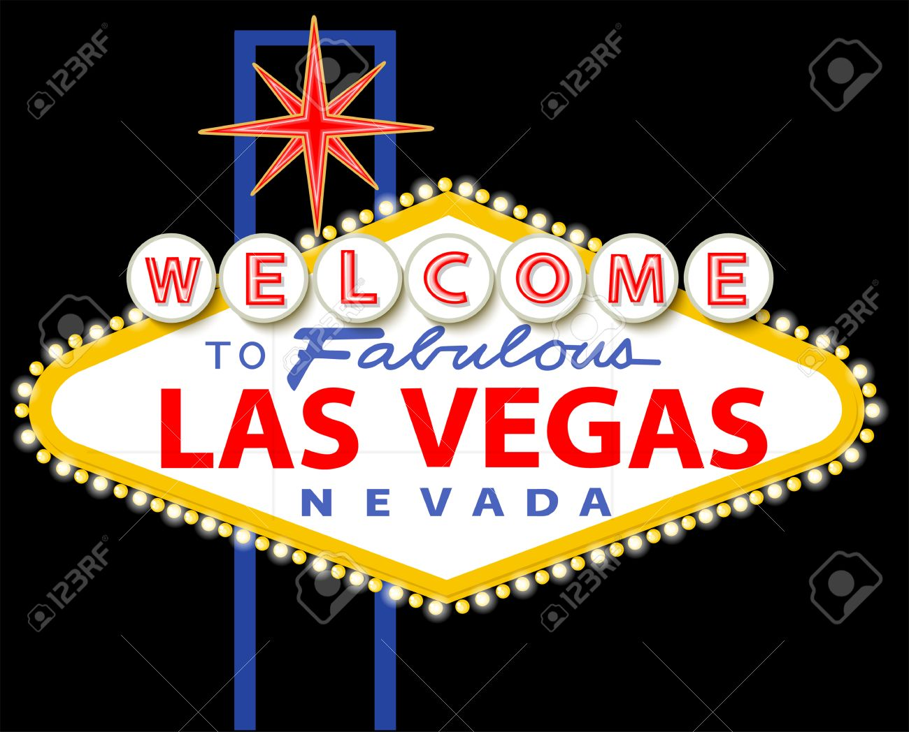Welcome to fabulous Las Vegas Nevada sign - 40337073
