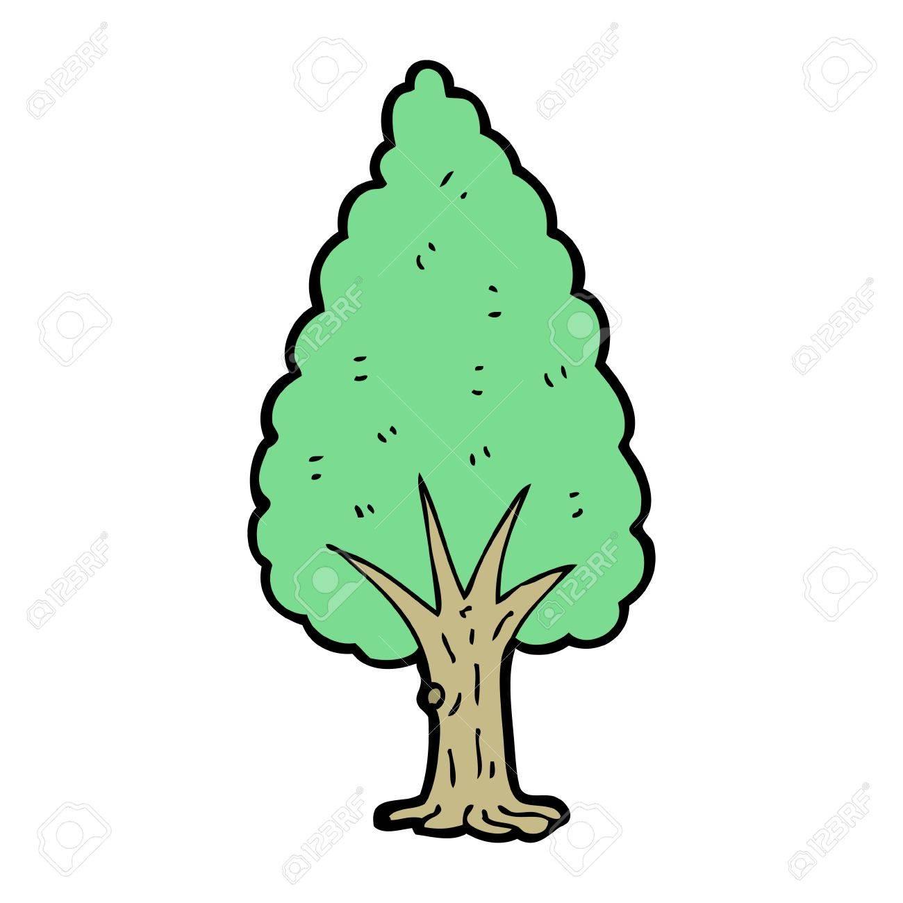 cartoon tree Stock Vector - 15789858