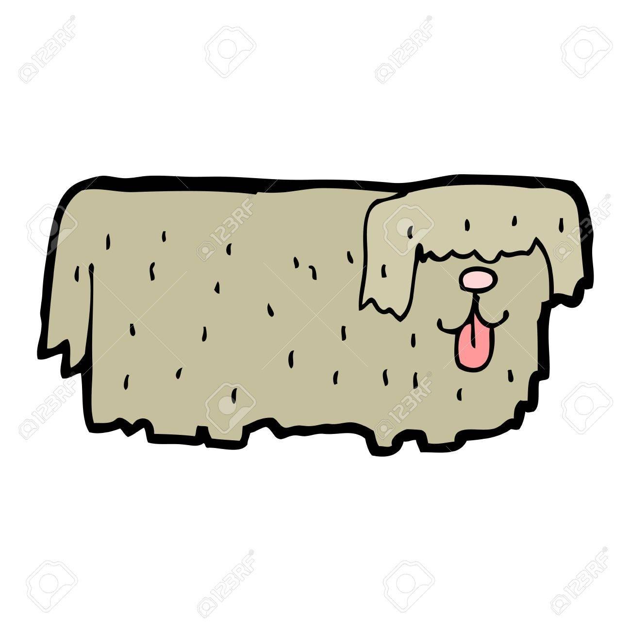 hairy dog Stock Vector - 16891746