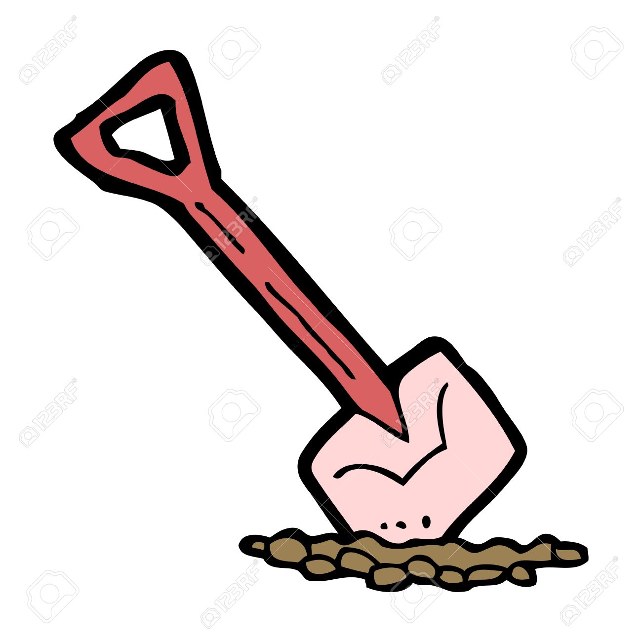 cartoon spade Stock Vector - 16533383