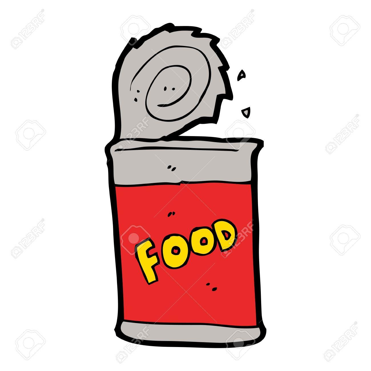 cartoon canned food - 16132940