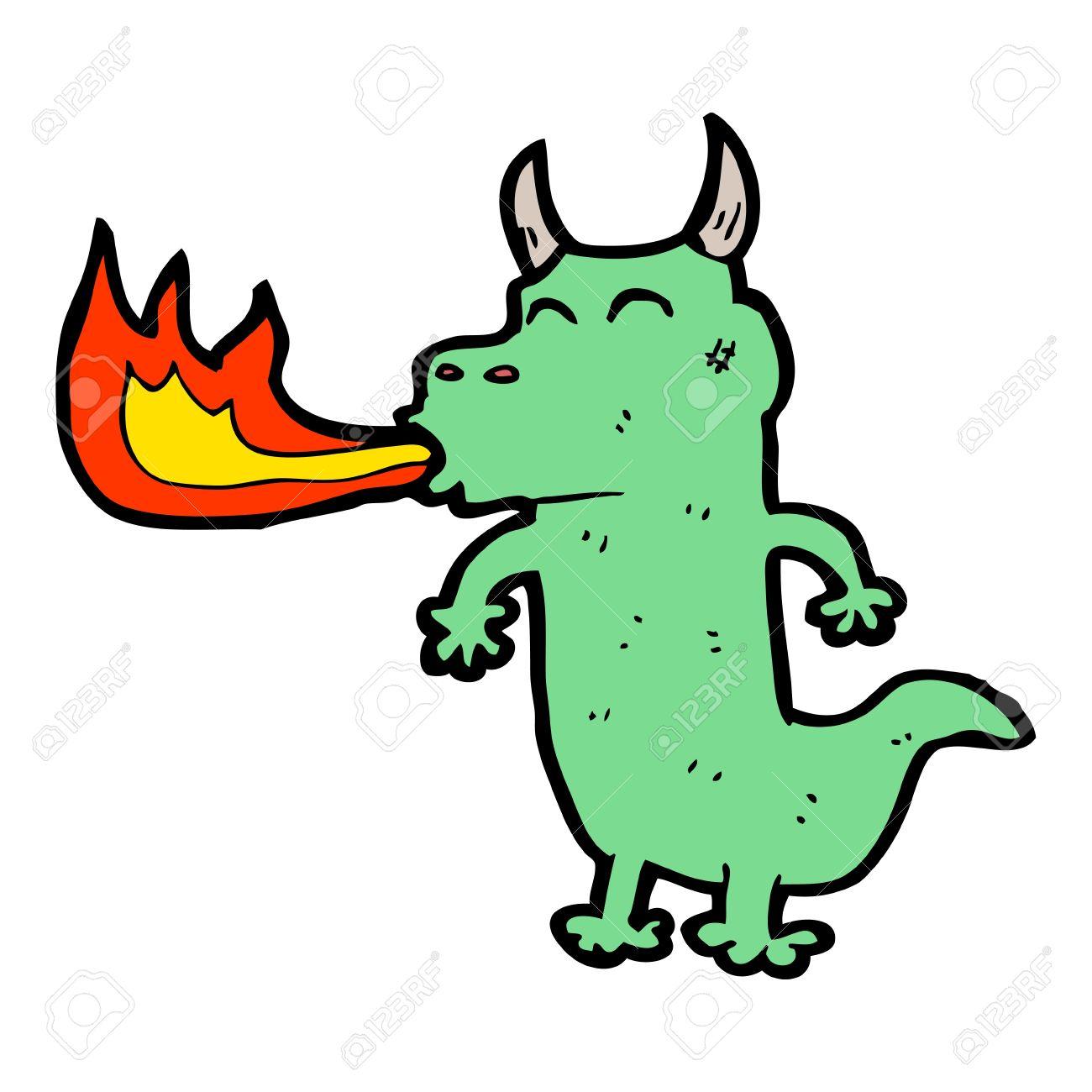 16124832-cartoon-dragon-spitting-fire-St