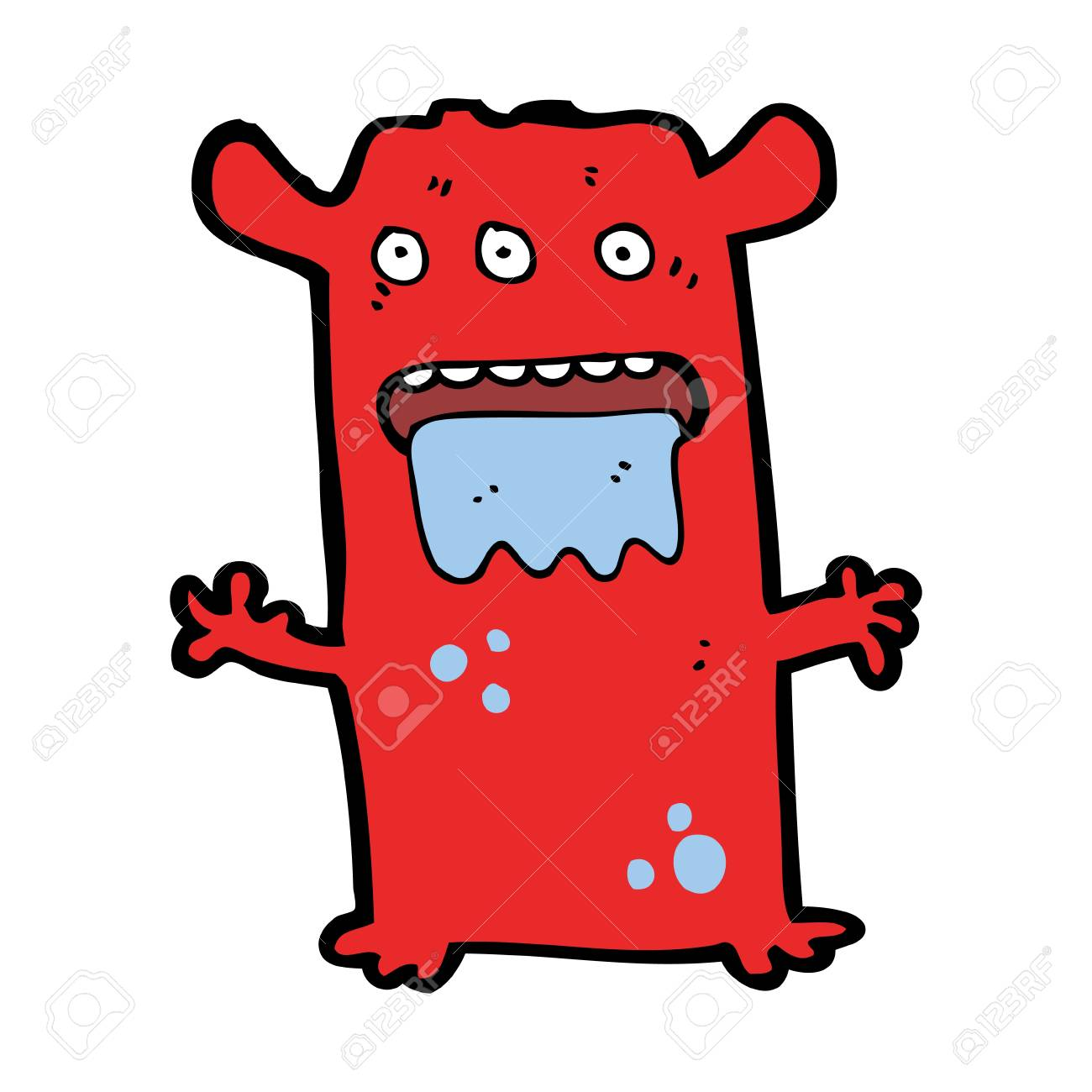 cartoon monster Stock Vector - 16055084