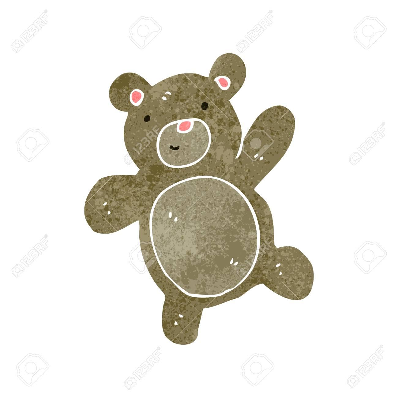 Jergley cartone animato teddy orso unisex bambini grigio maglietta
