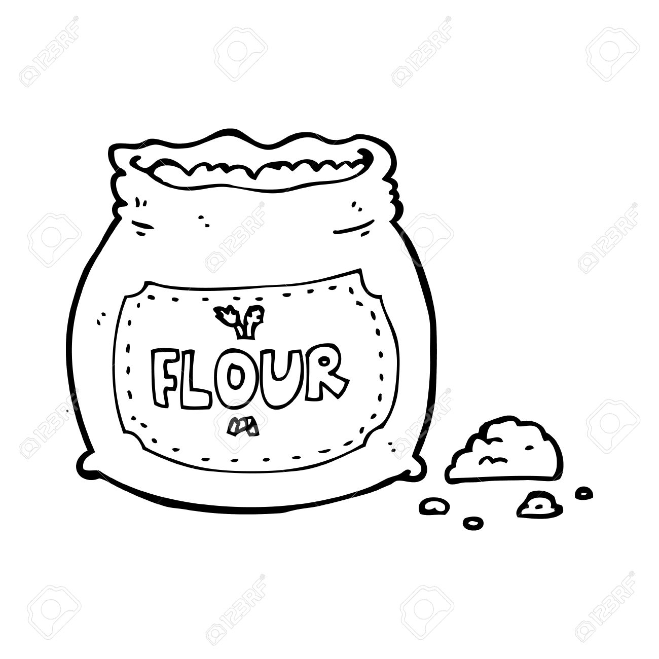 cartoon bag of flour royalty free cliparts vectors and stock illustration image 25010351 cartoon bag of flour