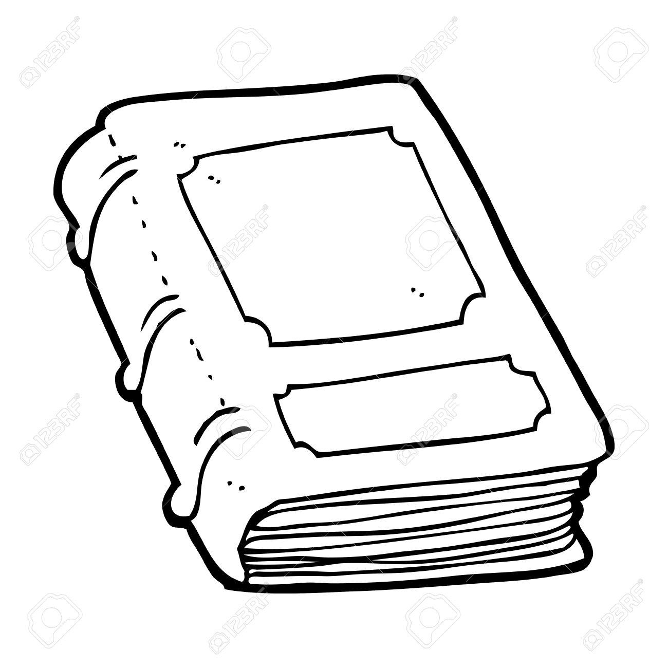 Dessin Animé Vieux Livre Clip Art Libres De Droits , Vecteurs Et  Illustration. Image 25007382.