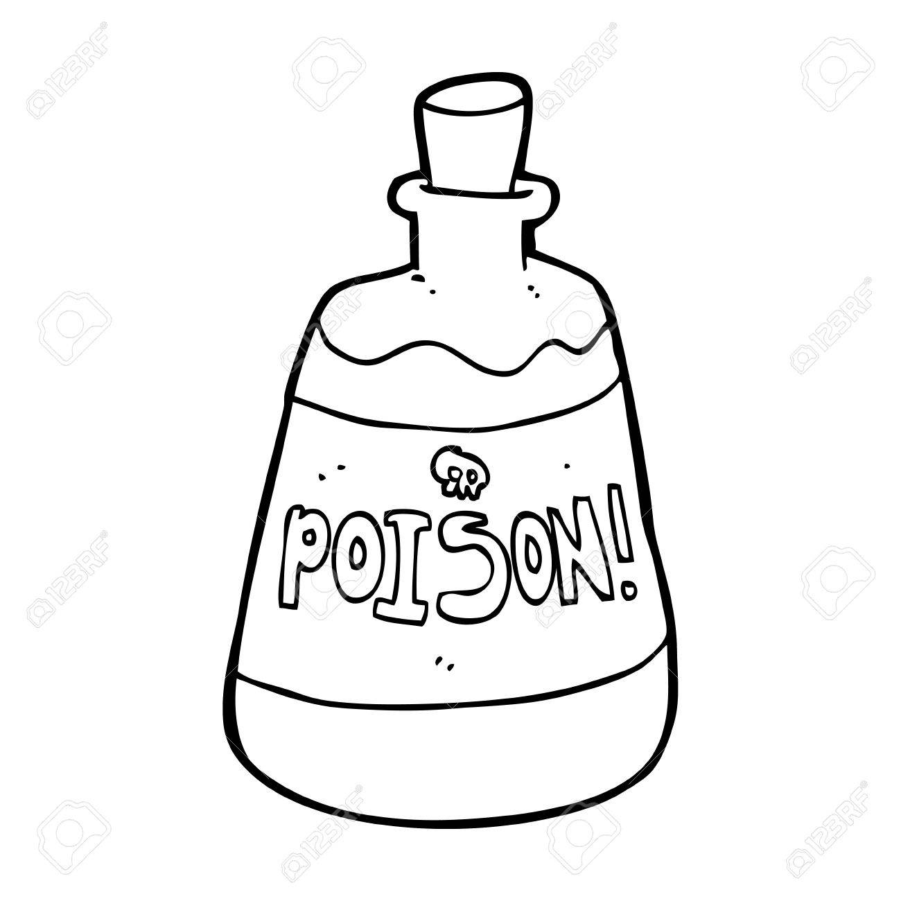 Cartoon Bottle Of Poison Royalty Free Cliparts, Vectors, And Stock ...