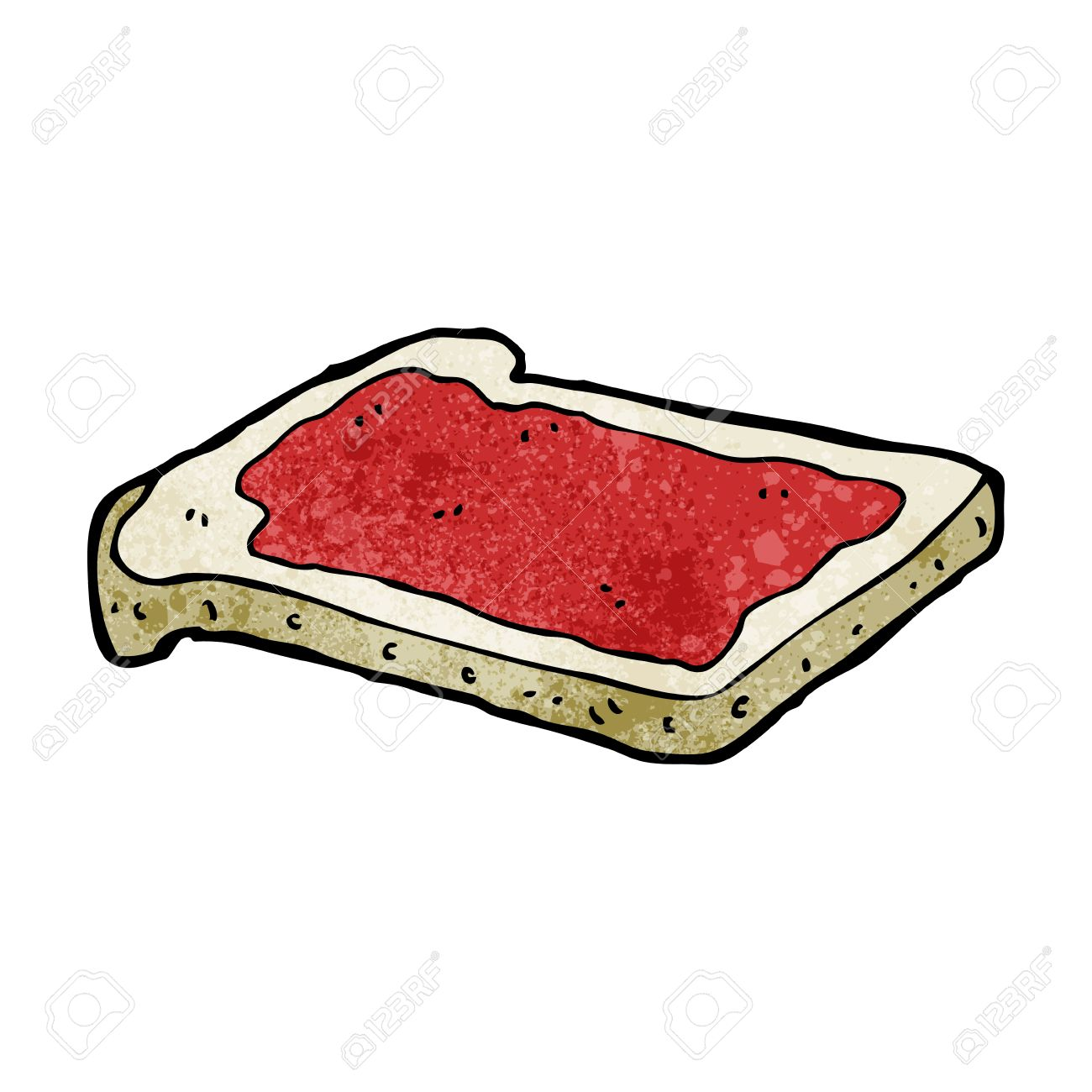cartoon jam on toast royalty free cliparts vectors and stock rh 123rf com toaster clip art free toaster clip art