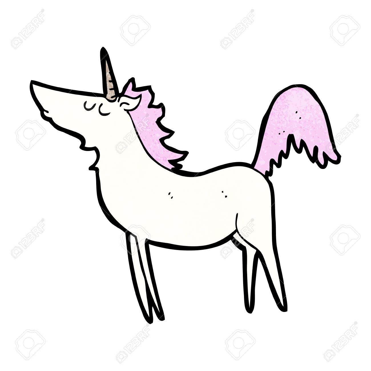 cartoon unicorn royalty free cliparts vectors and stock