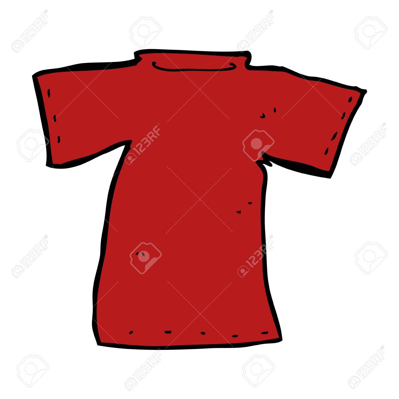 4c2f33cac Cartoon T Shirt Royalty Free Cliparts, Vectors, And Stock ...