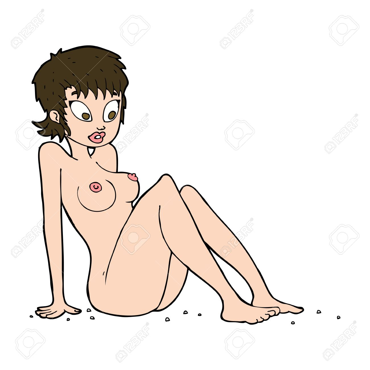 Cartoon naked picture woman