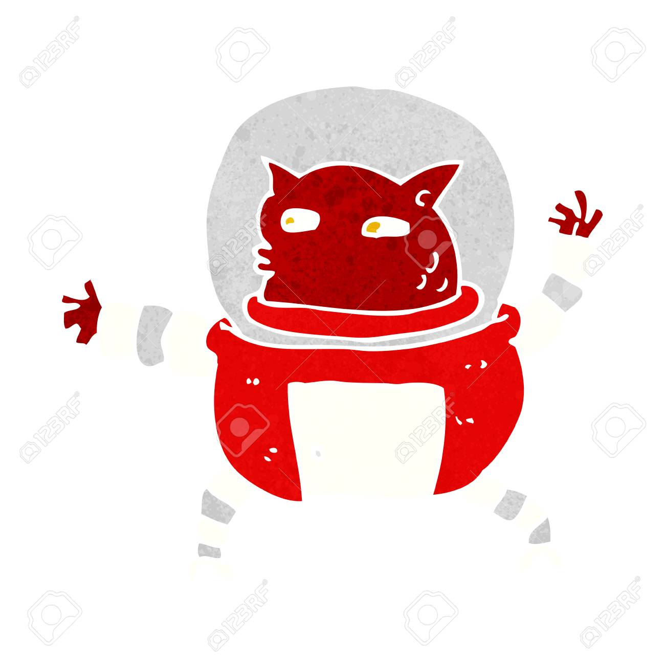 cartoon alien Stock Vector - 28992784