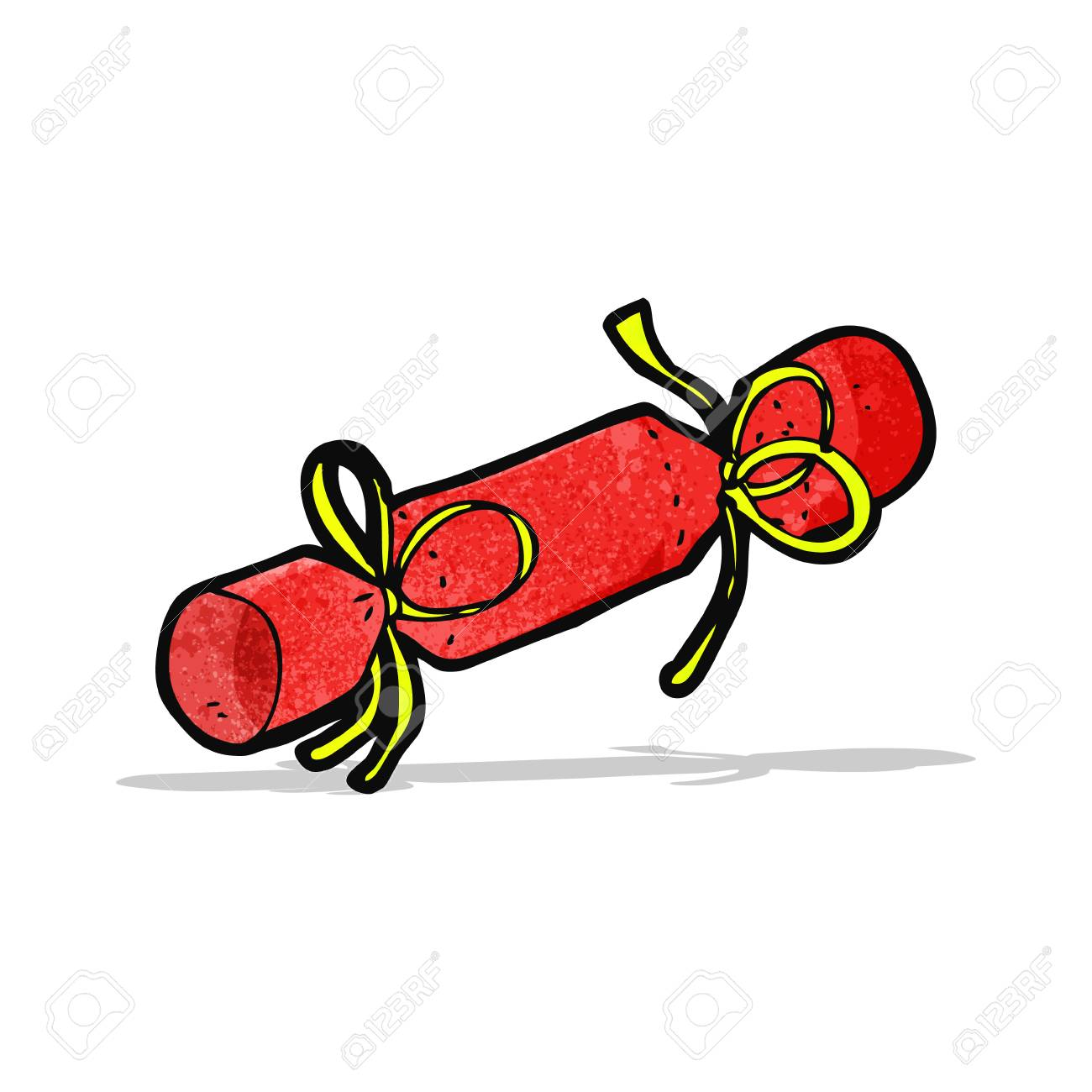 Christmas Cracker Vector.Christmas Cracker Cartoon