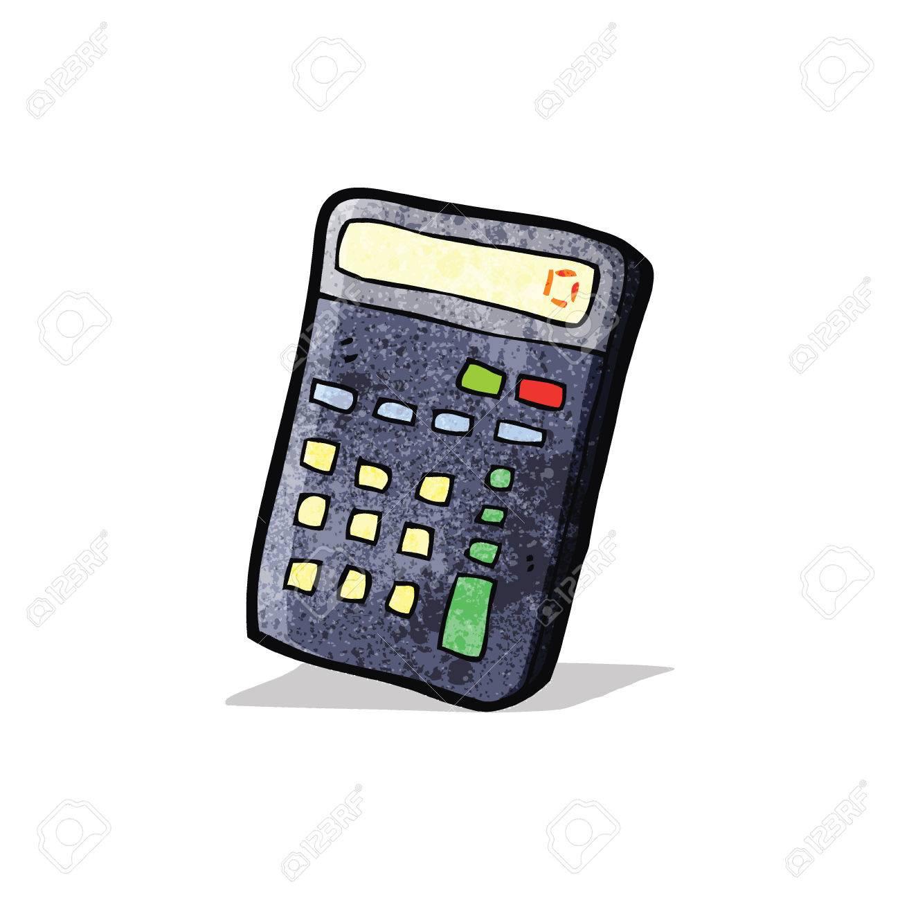 cartoon calculator - 32629385