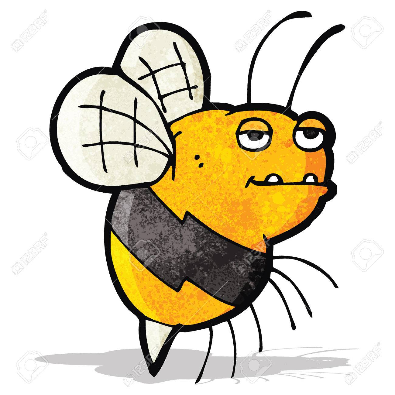 cartoon fat bumble bee royalty free cliparts vectors and stock rh 123rf com free bumble bee cartoon picture Bumble Bee Border