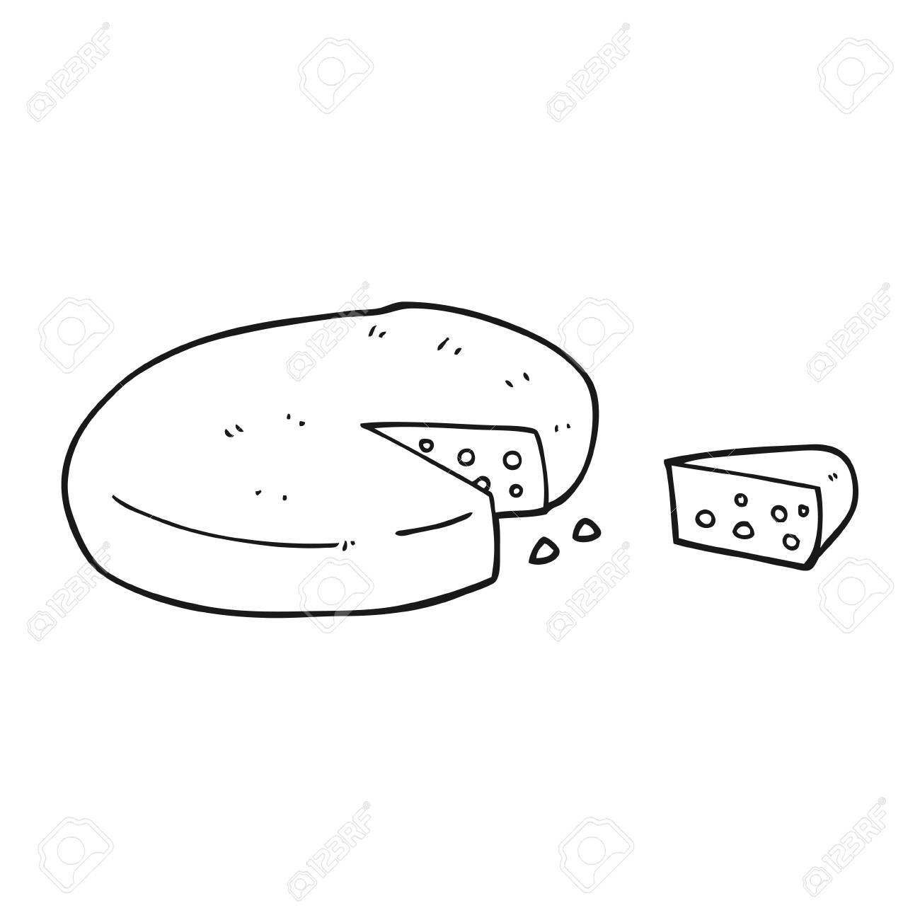 Black And White Illustration Black And White Cheese Clipart Download Illustration 2020