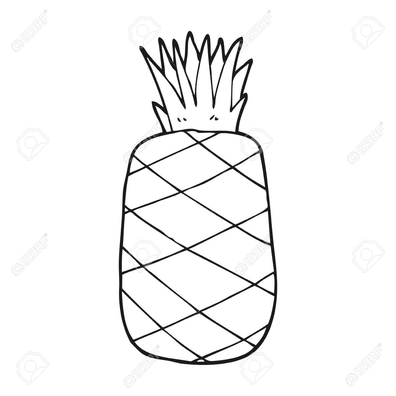 Pineapple Clip Art - Monochrome Photography Transparent PNG