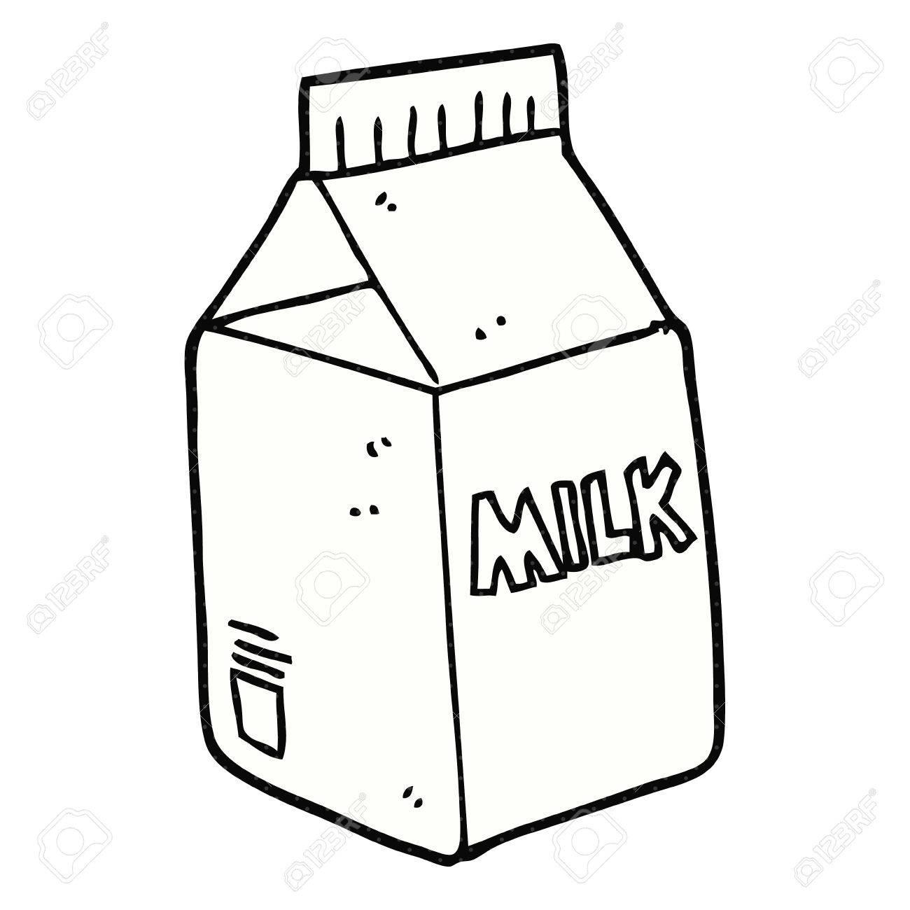 freehand drawn cartoon milk carton royalty free cliparts vectors rh 123rf com milk carton cartoon image milk carton cartoon