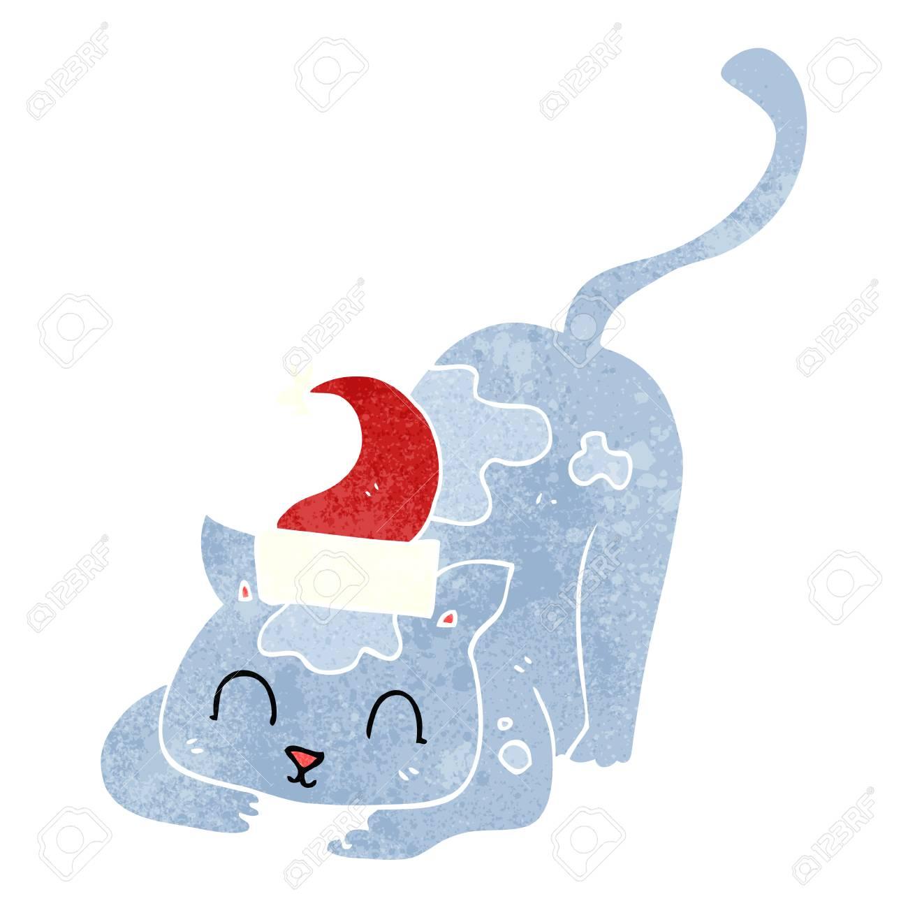 Vistoso Gato En El Pez Sombrero Para Colorear Galería - Ideas Para ...