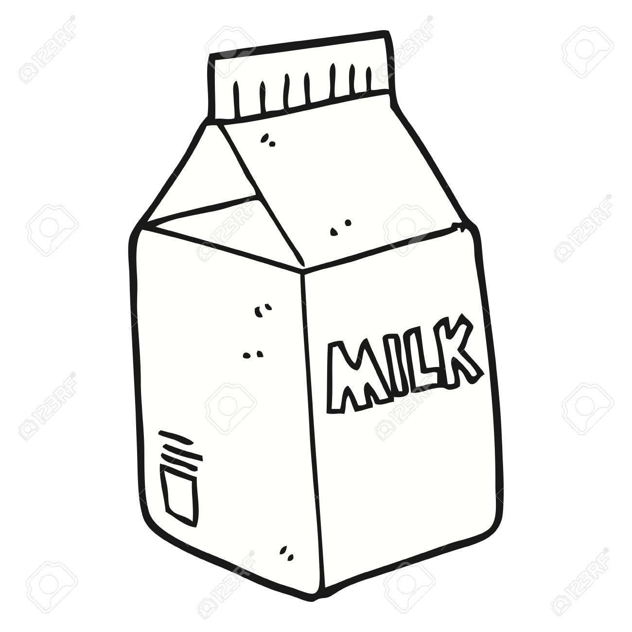 freehand drawn cartoon milk carton royalty free cliparts vectors rh 123rf com simple cartoon milk carton milk carton cartoon vector