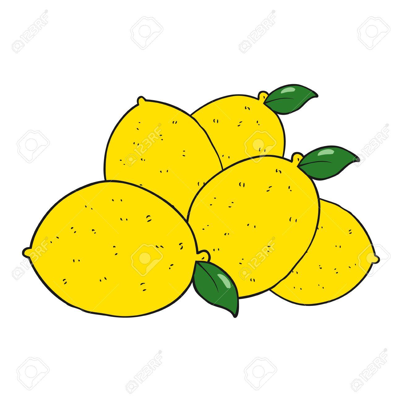 freehand drawn cartoon lemons royalty free cliparts vectors and rh 123rf com cartoon lemon images cartoon monster trucks