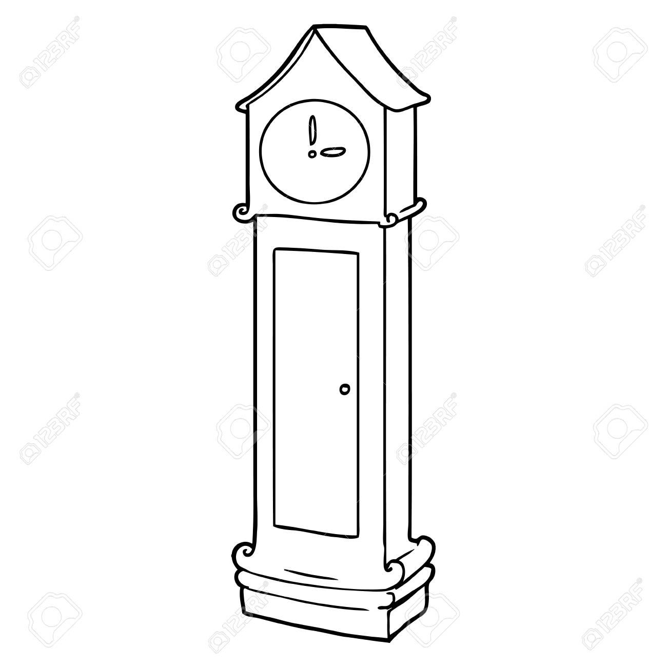 Grandfather Clock Cartoon Royalty Free Cliparts Vectors And Stock Illustration Image 94728733