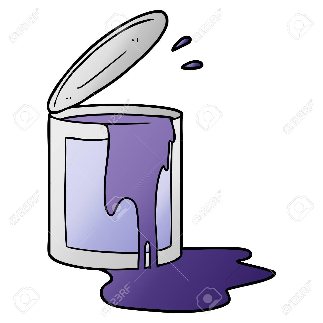 Cartoon Paint Bucket Royalty Free Cliparts Vectors And Stock Illustration Image 94742859