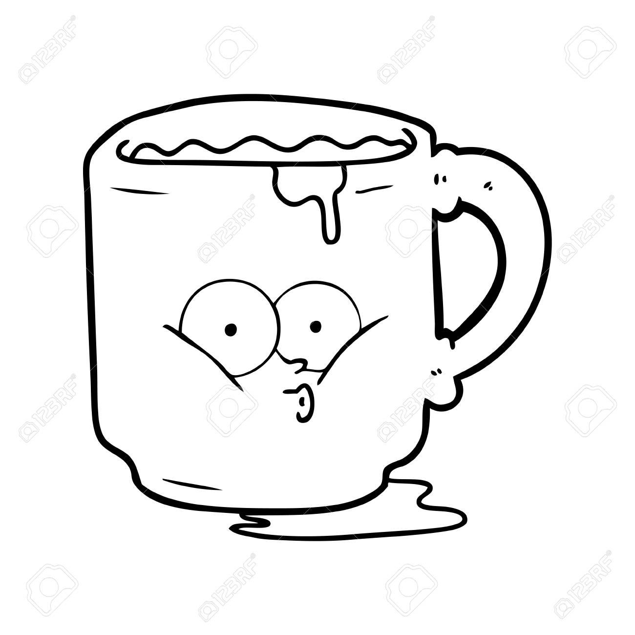 Cartoon Dirty Office Mug Royalty Free Cliparts Vectors And Stock Illustration Image 94844512