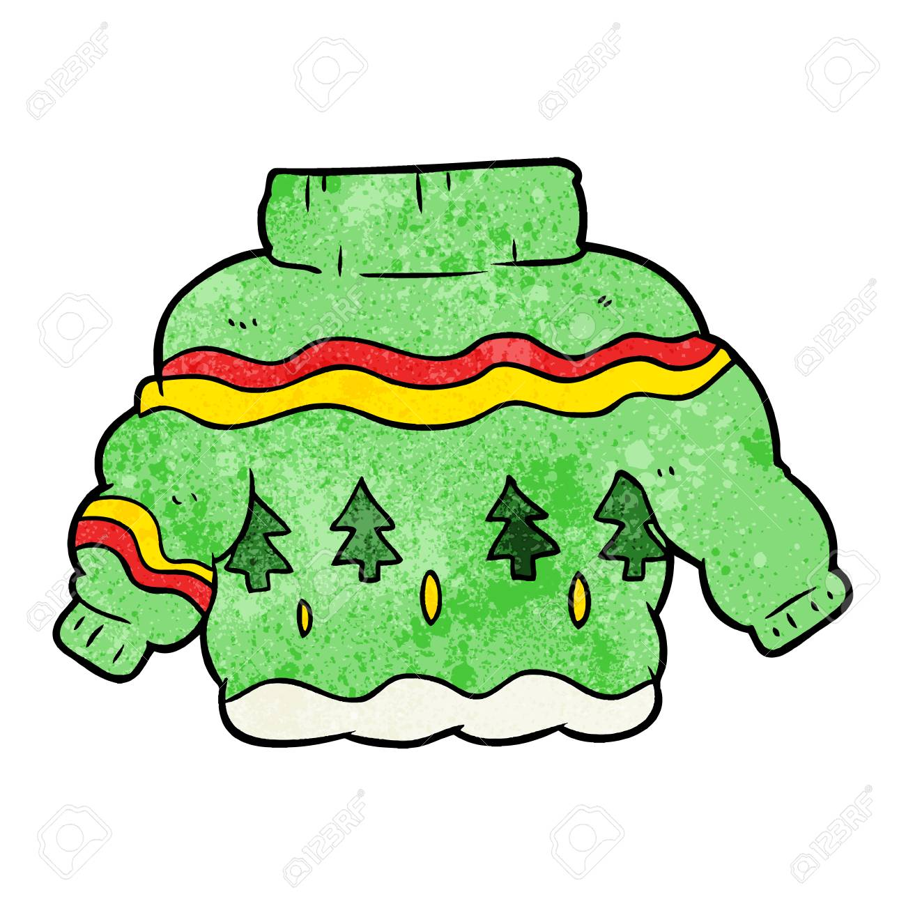 Image result for christmas jumper cartoon