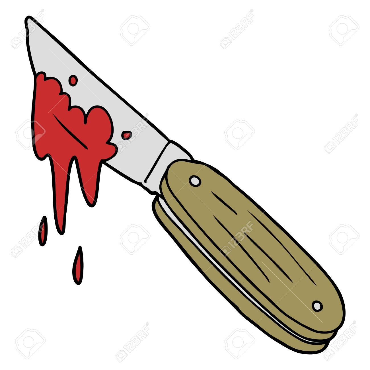 cartoon bloody knife royalty free cliparts vectors and stock rh 123rf com