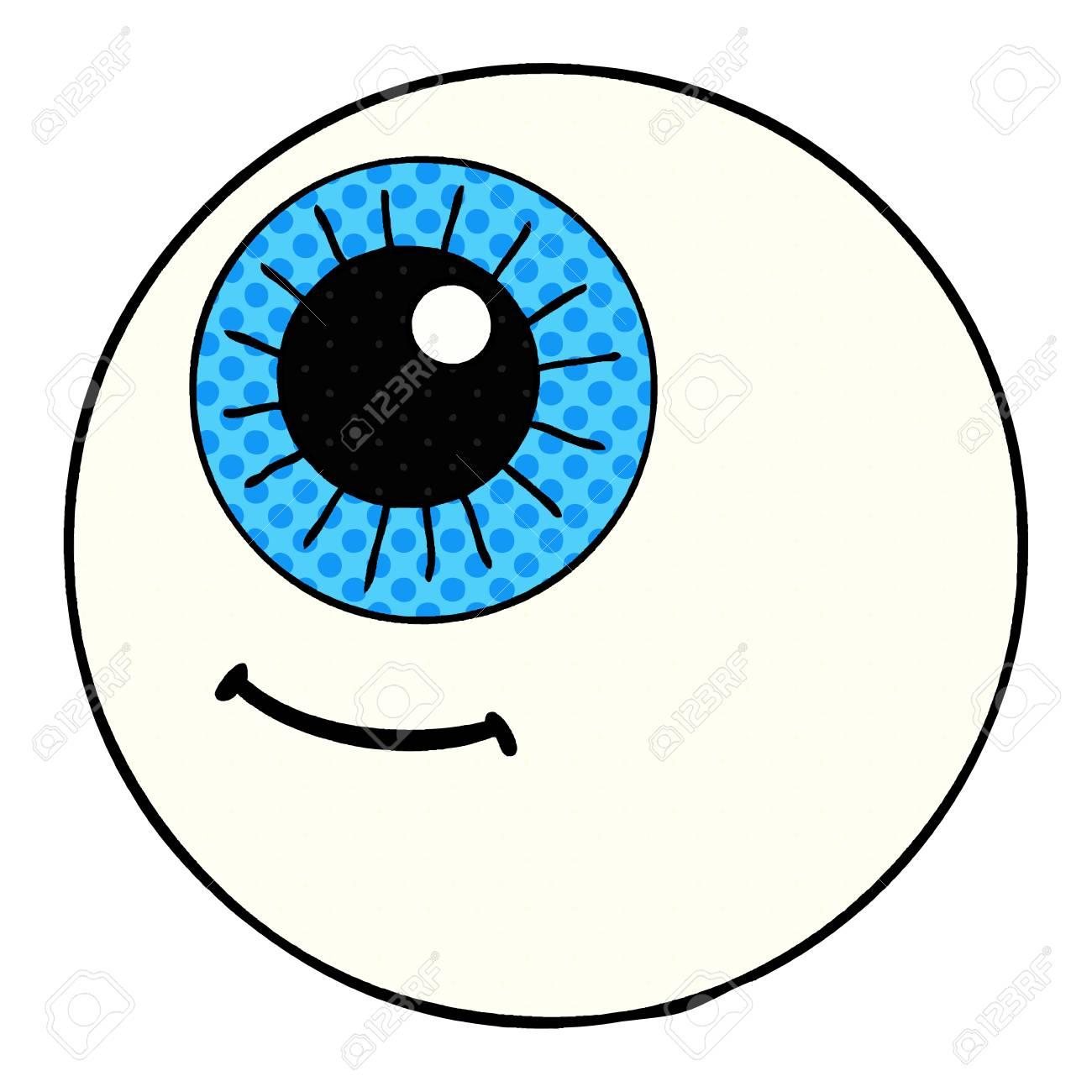 cartoon eyeball illustration design royalty free cliparts vectors rh 123rf com cartoon eyeball vector cartoon eyeball vector