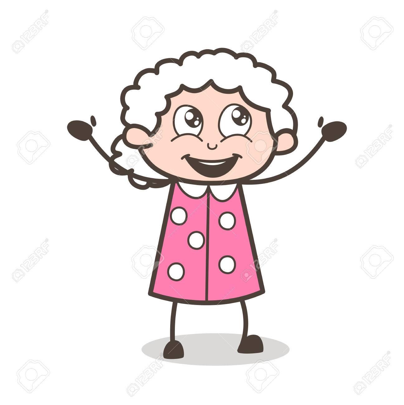 おばあちゃん イラスト