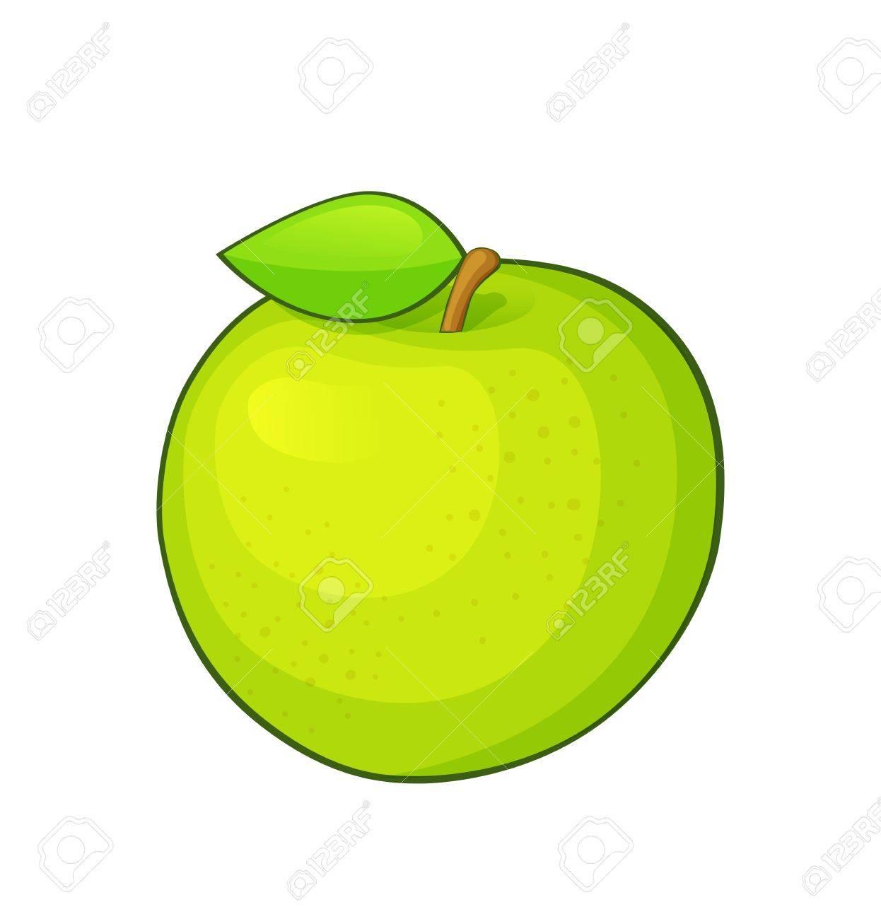 Foto de archivo ilustración de dibujos animados de color verde manzana  madura jpg 1246x1300 Imagenes en cebc129088a