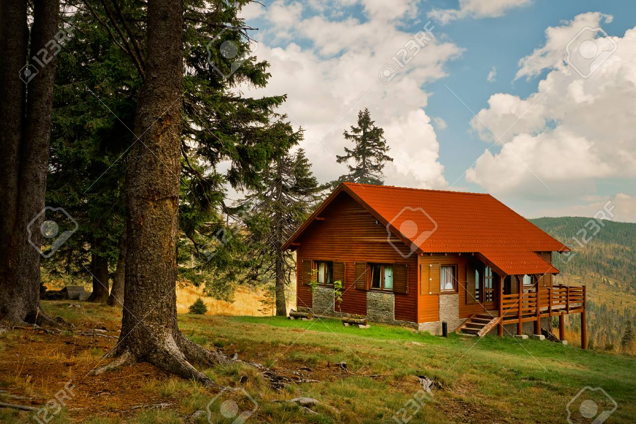 Mountain Cabin Stock Photo Picture And Royalty Free Image Image 35427948