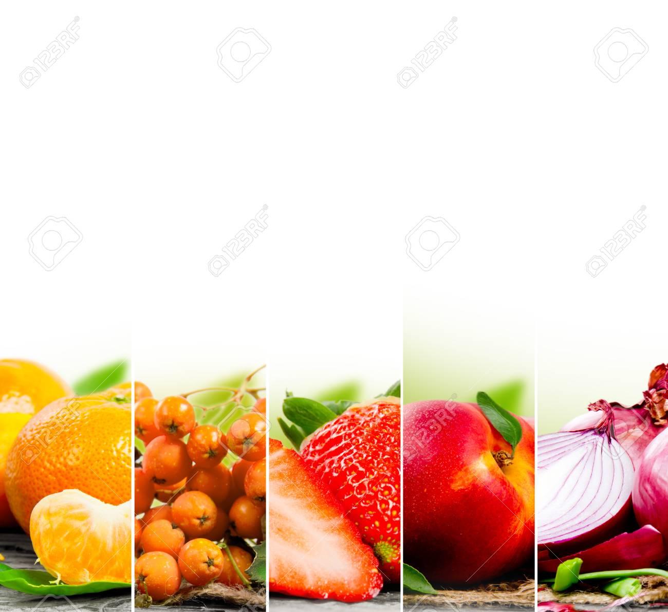 Charmant Bilder Von Obst Und Gemüse Zu Färben Zeitgenössisch - Entry ...
