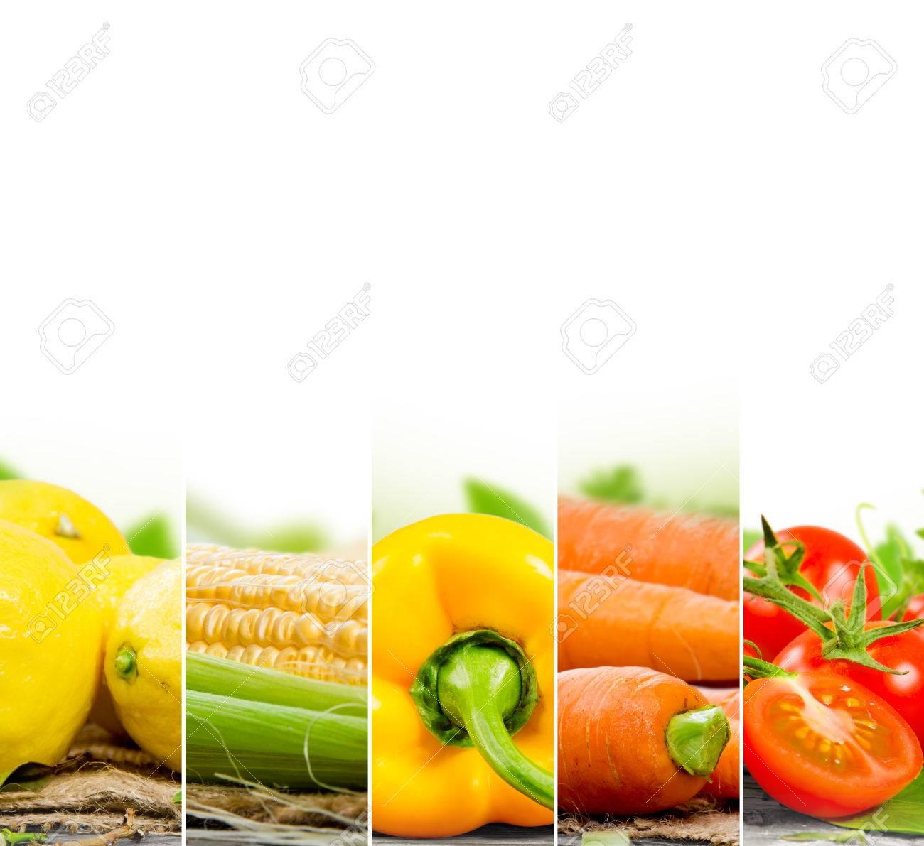 Schön Obst Und Gemüse Zum Färben Fotos - Malvorlagen Von Tieren ...