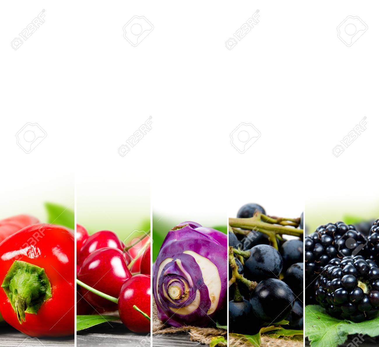 Schön Bilder Von Obst Und Gemüse Zu Färben Zeitgenössisch - Beispiel ...