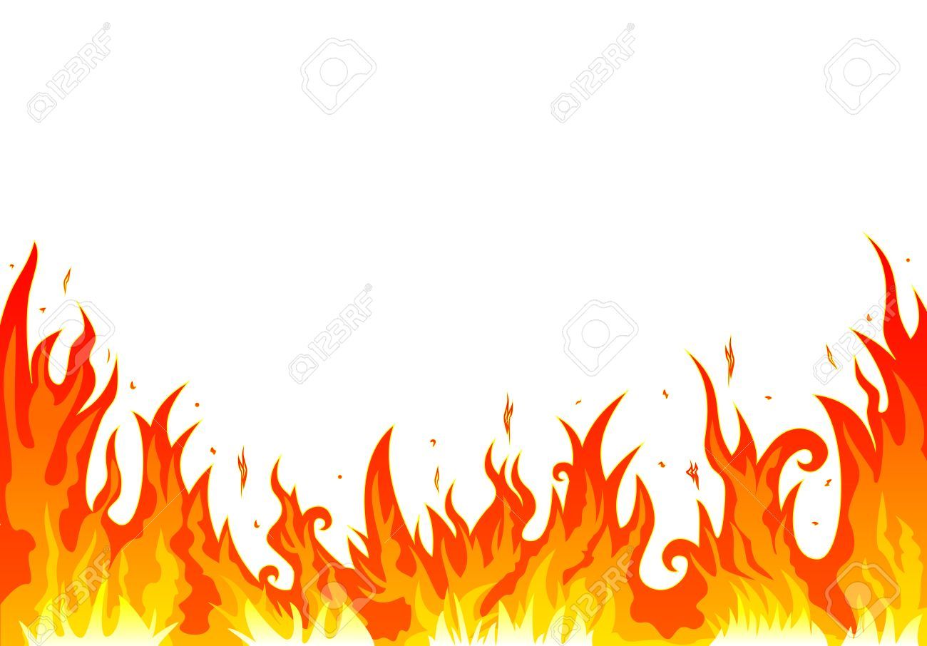 flames burning fire abstract fire on a white background royalty rh 123rf com vector frames and borders free vector flames free