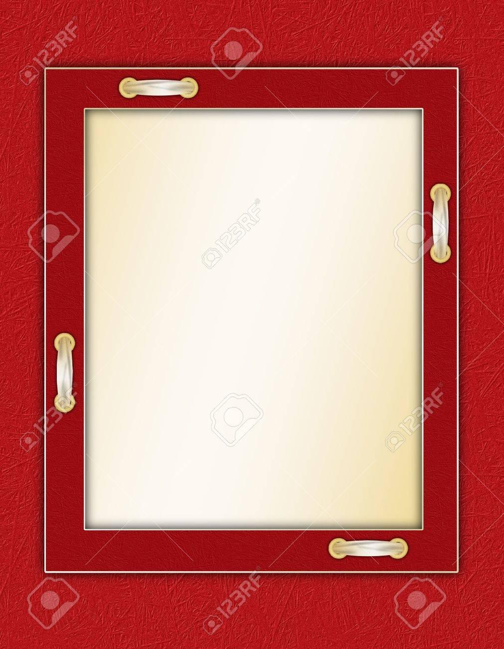 Rahmen Für Ein Foto Oder Einladungen An Einem Schönen Hintergrund ...