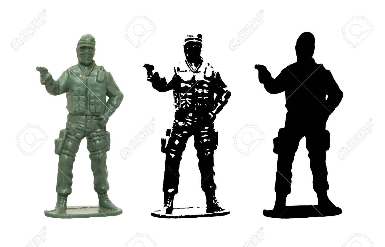 plastic toy soldier vector royalty free cliparts vectors and stock rh 123rf com soldier vector png soldiers victorville ca