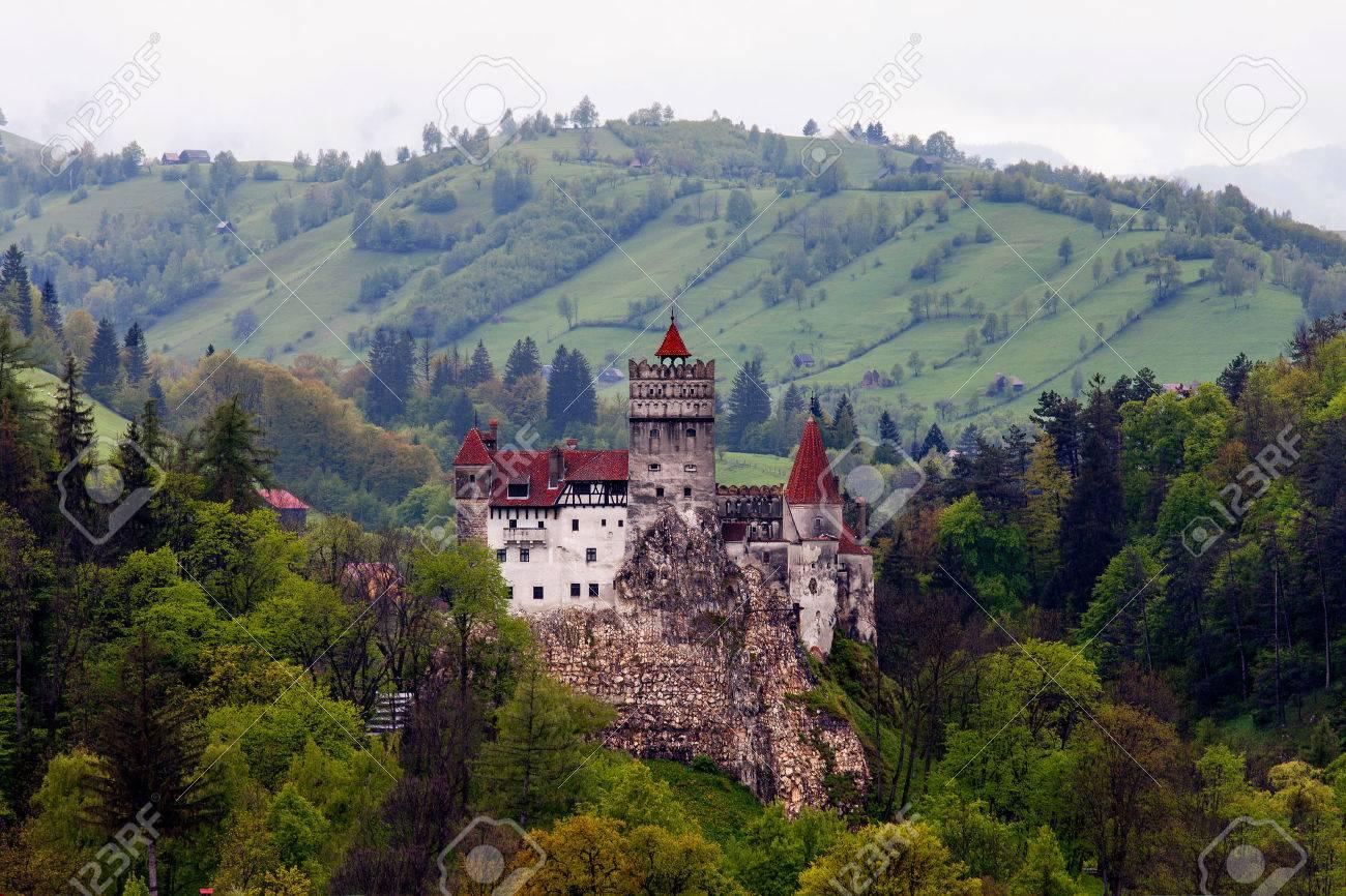 Castle of Dracula in Bran, Romania. - 59252427