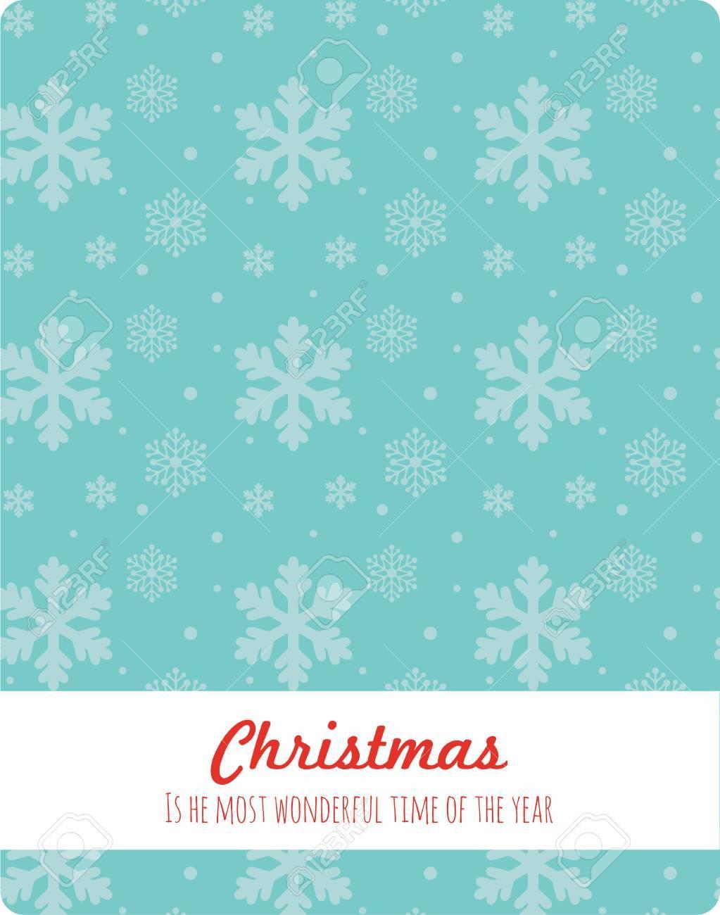Weihnachten Schneeflocken Hintergrund. Weihnachten Ist Die Schönste ...