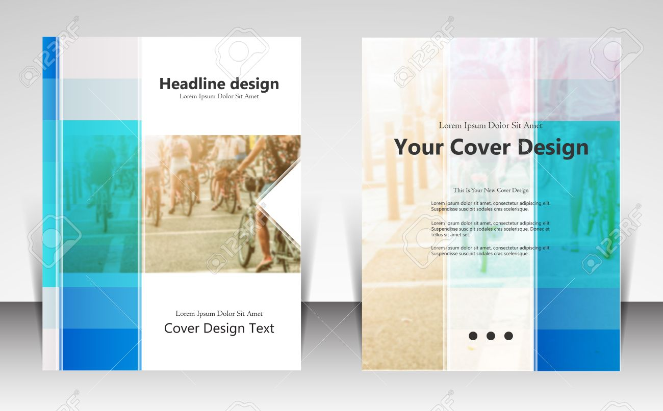 Illustration For Website Page Layout Template Design, Business ...